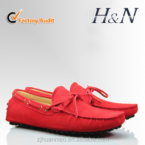 Man made moccasin shoes fashion style