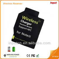 Qi Standard wireless charger receiver for Samsung Galaxy Note3
