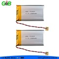 GEB753969 Rechargeable lithium polymer battery 3.7V 2380mah