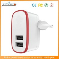 Short Circuit,Over-load,Over-charge Protection Smart Home Plug AC Adapter with Two Pin Plug