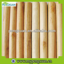 Natural/varnished Pine wood mop handle with different design