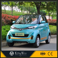 4wd electric motor car city green battery adult vehicle cheap price