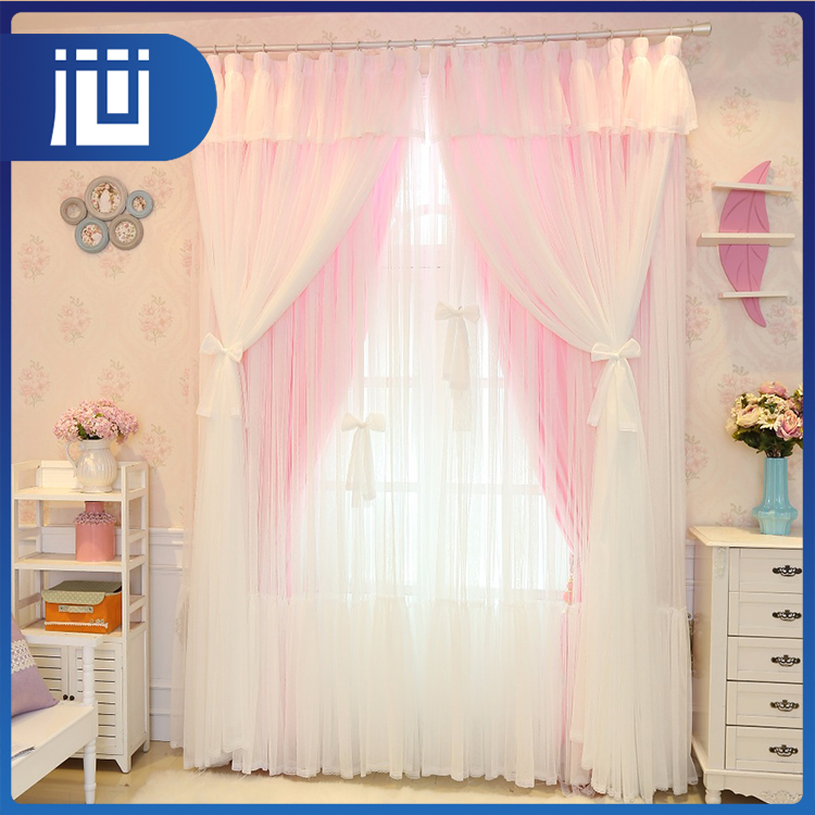 Factory supplier cheap price elegant make to order dreamy french lace curtains