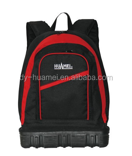 HM02016 Rubber bottom tool tote tool bag 1680D tool bag