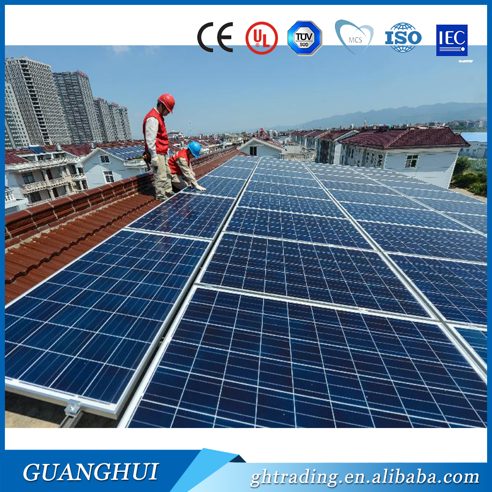 China high efficiency cheap price 300w solar panels price philippines 156x156 mm solar cell for home