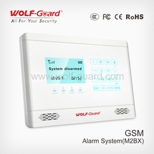 New GSM SMS Alarm System,Wireless SIM Card Calling Alarm with Power-off Inform Function