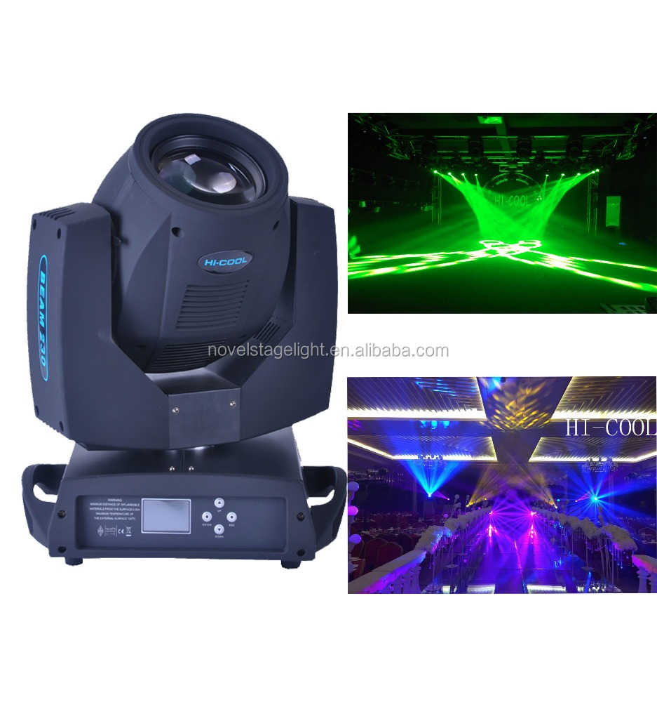 HI-COOL beam 230 moving head /230w beam light/7R beam moving head light
