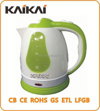 High efficiency 1.8L protable table electrical kettle