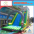Kids commercial and residential inflatable water\dry slide with arch