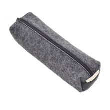 PC005 Wholesale High Quality Wool Felt Pencil Pen Case Stationery Pouch Cosmetic Makeup Bag