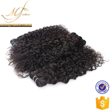 Summer Promotion new grade 7a loose curly hand tied weft virgin hair