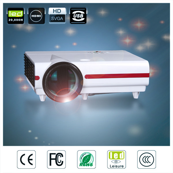china market of electronic cheap price 720p 3500 Lumens Full HD mini lcd video cre x1500 used led projector