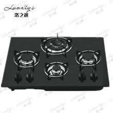 Built in Glass 4 Burners Luxury Kitchen Gas Stove