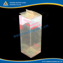 clear plastic gift wine glass packaging boxes