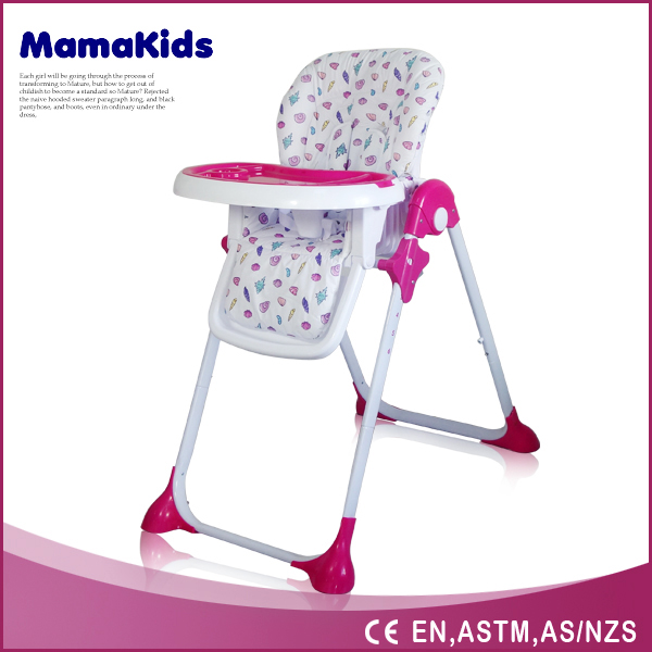 2016 hot model 2 in 1 with swing baby high chair feeding chairs adult baby high chair