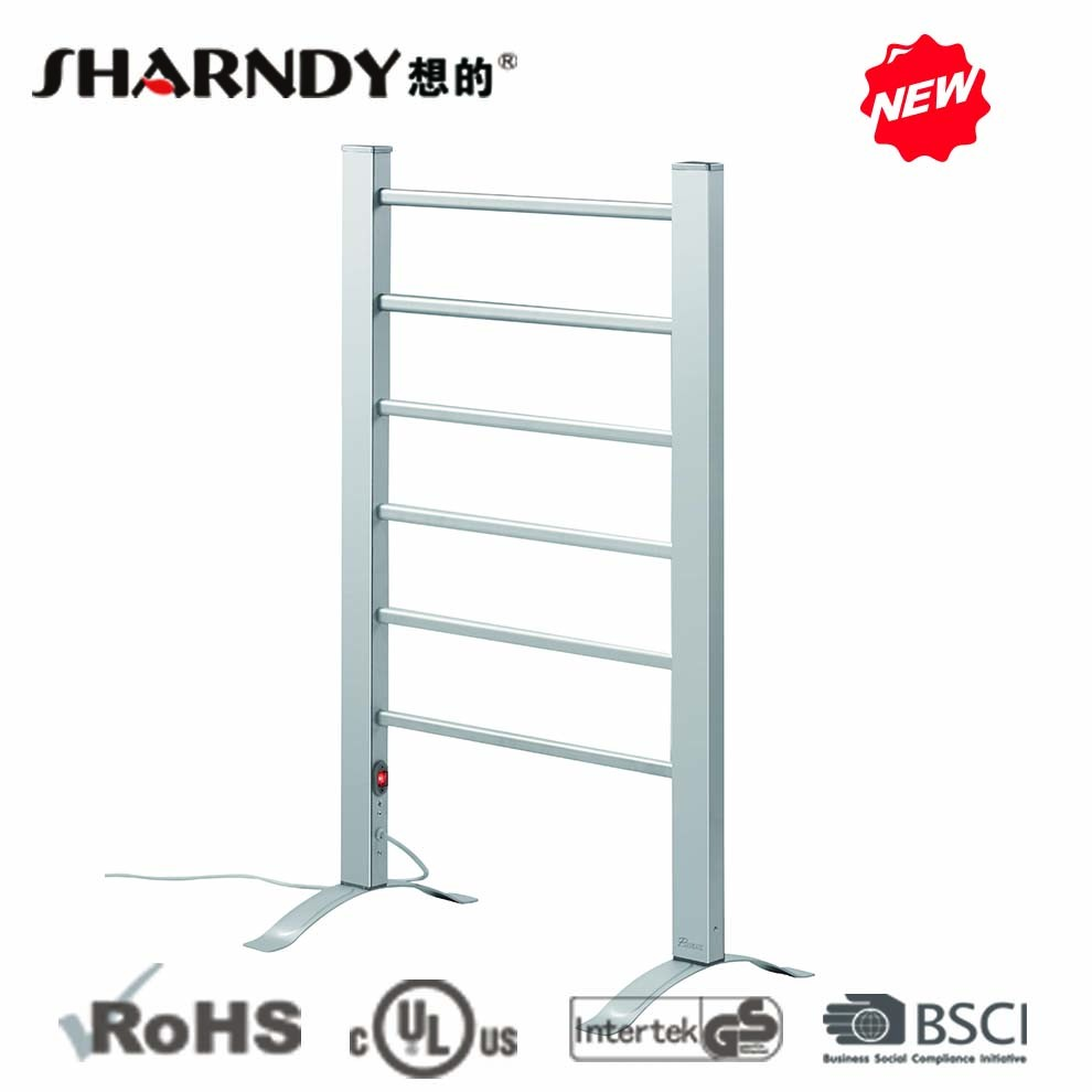 Sharndy Wall Mounted And Free Standing Household Electric Clothes Dryer Rack Heated Clothes