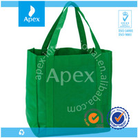 cheap promotional nonwoven grocery large tote shopping bags