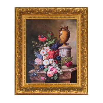 Classical Wall Art Gold/Silver Picture Frames for Oil Painting