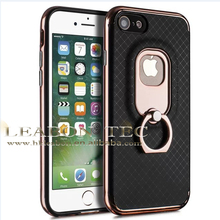 2017 mobile phone case,for iphone 7 case tpu,for iphone 7 phone case with finger ring phone stand
