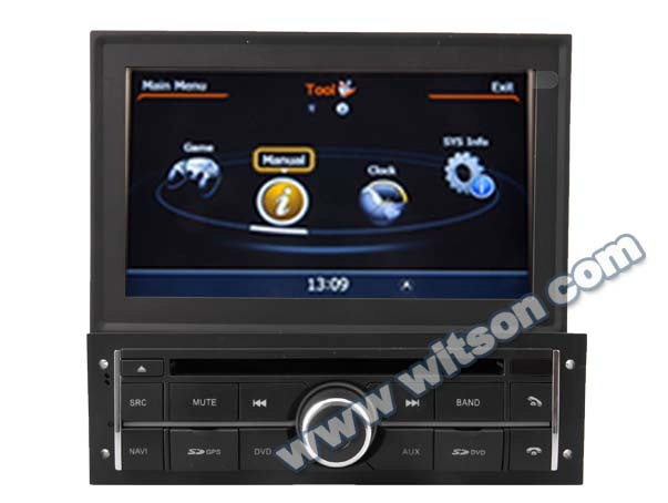 WITSON MITSUBISHI <strong>L200</strong> 2010-2012 DOUBLE DIN <strong>GPS</strong> WITH A8 CHIPSET DUAL CORE 1080P