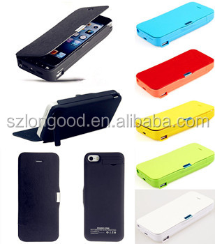 4200mAh External Battery Backup Charger Bank Power Case Cover For iPhone 5 5s 5c