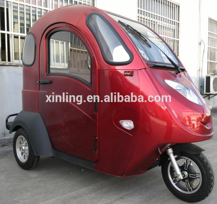 2016 New design 3 wheel electric tricycle for passenger, three wheel passenger tricycles with seat