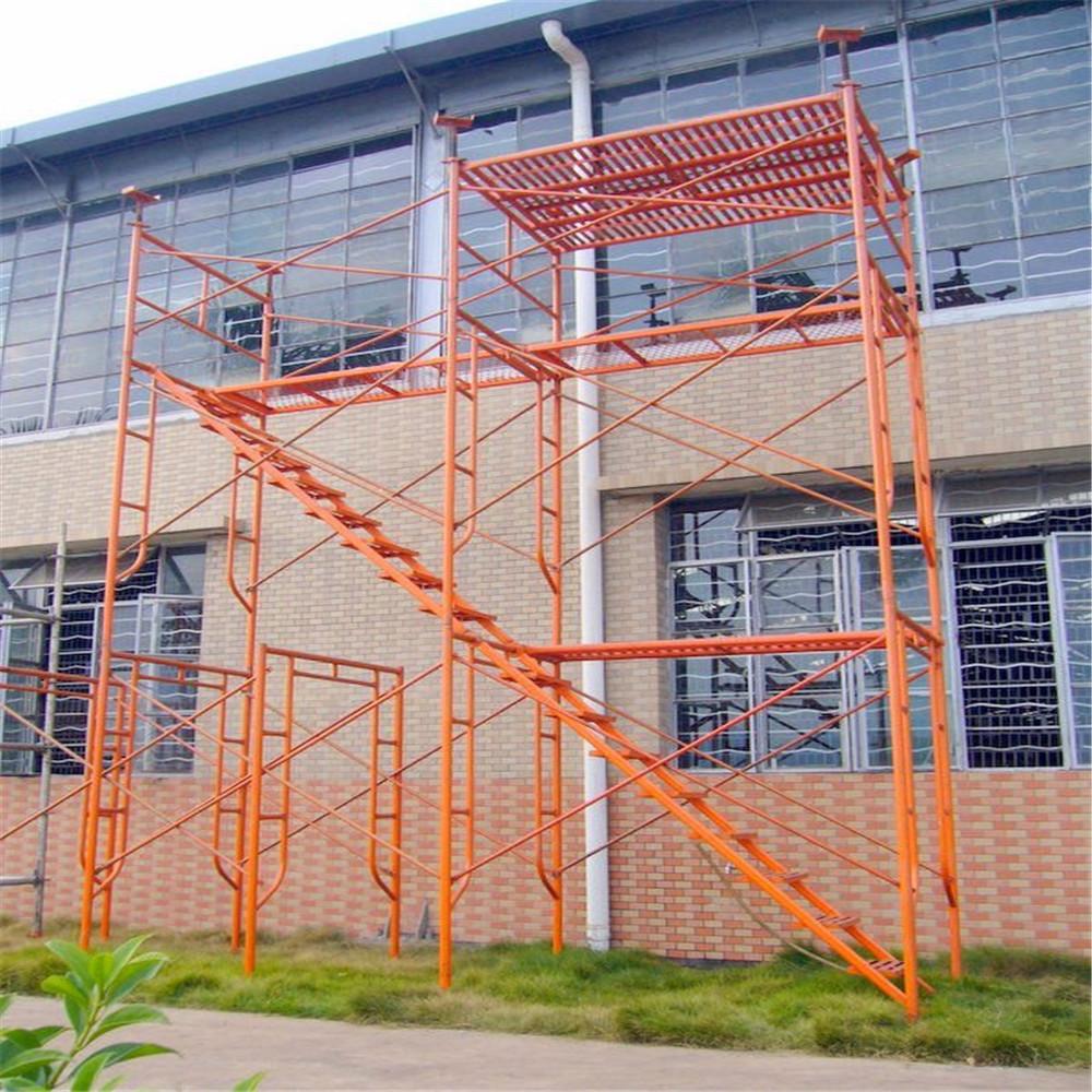 Steel Scaffolding Manufacturers : Durable q steel tubular scaffolding frame door