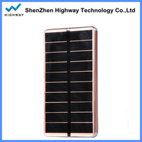 10000mAH solar cell portable solar panel power bank used mobile phone