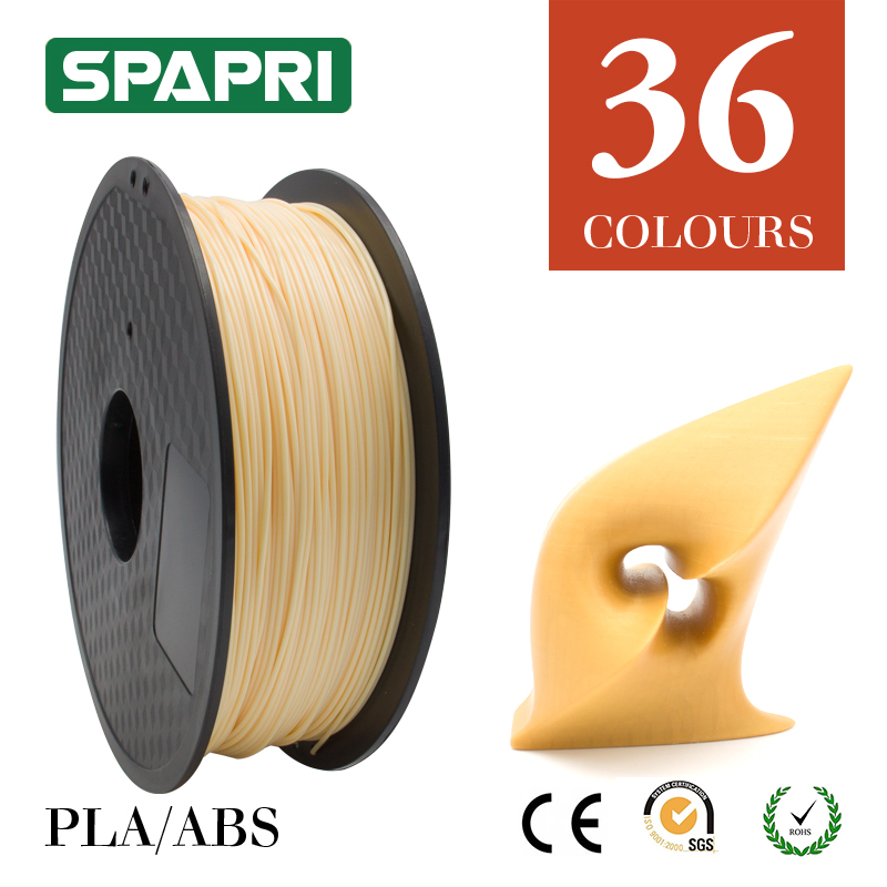 Colours durable heat resistance melting temperature of 3d abs 3mm