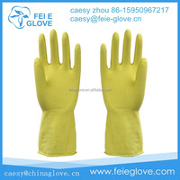 60g good quality beautiful Household rubber Gloves washing the floor in Zhangjiagang city