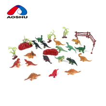 18 Pcs lovely model plastic mini dinosaur animal toy for best price