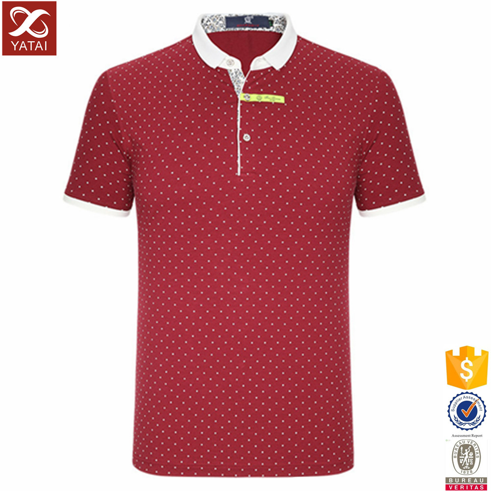 Latest design custom polo shirts made in china buy polo for Custom polo shirt design