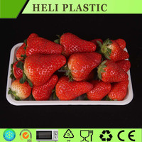 Rectangular Plastic PS strawberry/grape fruit container