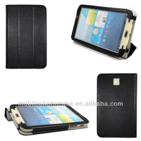 Hot sale folio stand leather case for Samsug Galaxy Tab 3 7.0 t2100