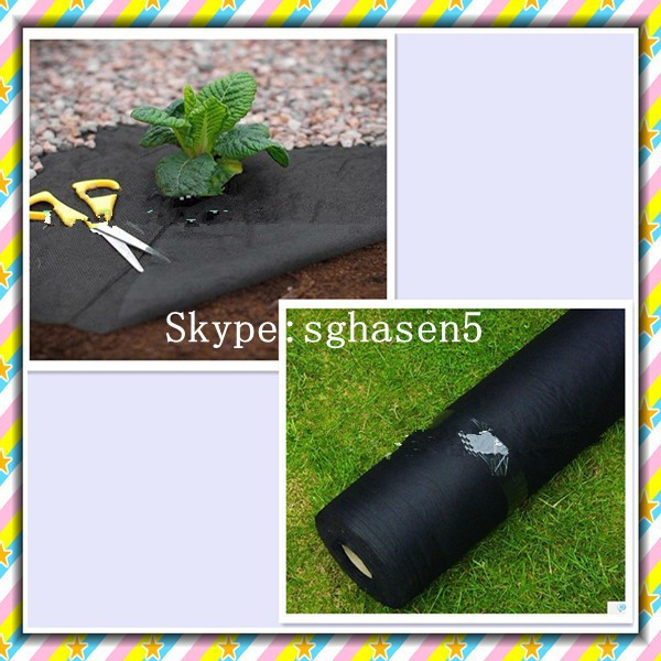[FACTORY] Agricultural and garden products--Anti UV non woven weed mat,black garden ground cover,White plant protection cover