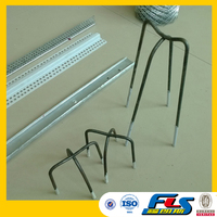 Plastic Coated Leg Tips Concrete Steel Wire Bar Chairs/Individual steel rebar chair