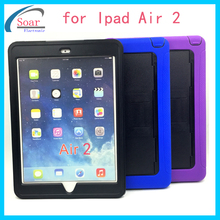 Unbreakable Hard pc material tablet cover for iPad air 2,9.7 inch tablet case