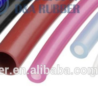High quality thin non-toxic flexible silicone rubber tubing