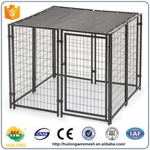 Wholesale Animal Safety Cage Metal Welded Dog Kennels Huilong factory