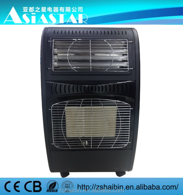 Gas & Electic heater, high power small gas heater, flameless gas heater