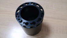 OEM black hard anodized cnc milling and turning aluminum adapter parts, cnc drawing milling parts