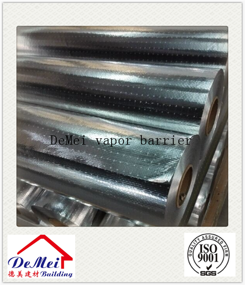 Vapour radiant Barrier Perforated Aluminum foil Laminated woven fabric
