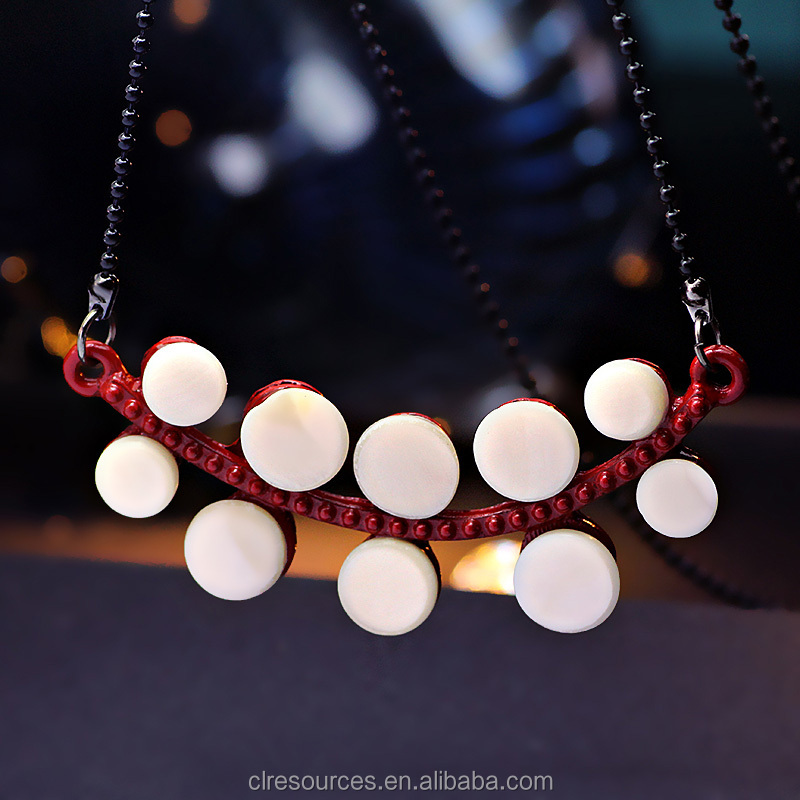 2016 Fashion Jewelry Shell Necklace White Shell Pendant