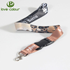 Factory direct sale custom cute lanyards for keys with lobster claw and safety buckle