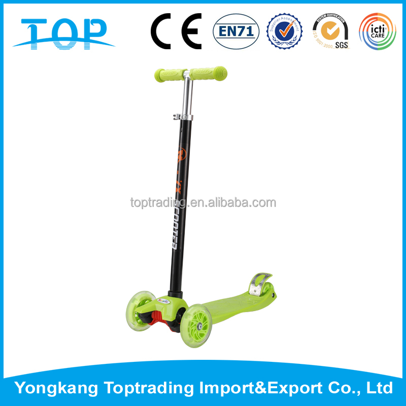 New Arrival 3 wheel mobility scooter big wheel kick scooter for children