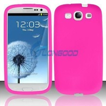 2015 Hot Stylish Silicone Case Back Cover For Samsung S3 i9300 SIII(SG3-002)