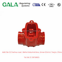 Top quality OEM metals casting check valve body casting oil