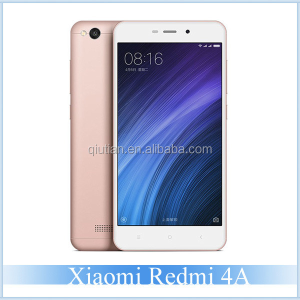 "Original Xiaomi Cheap Phones Redmi 4A 5"" Snapdragon 425 Quad Core 720P 5+13mp 3120mAh MIUI 8 Mi Mobile Phone 2GB +16GB ROM LTE"