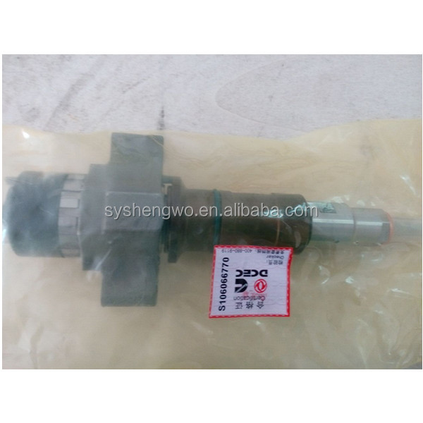 Dongfeng auto spare parts 6CT diesel injectors C4307452