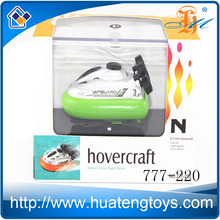 Hot Sale Toys 4ch Mini radio control hovercraft gas power rc boat for kids 777-220